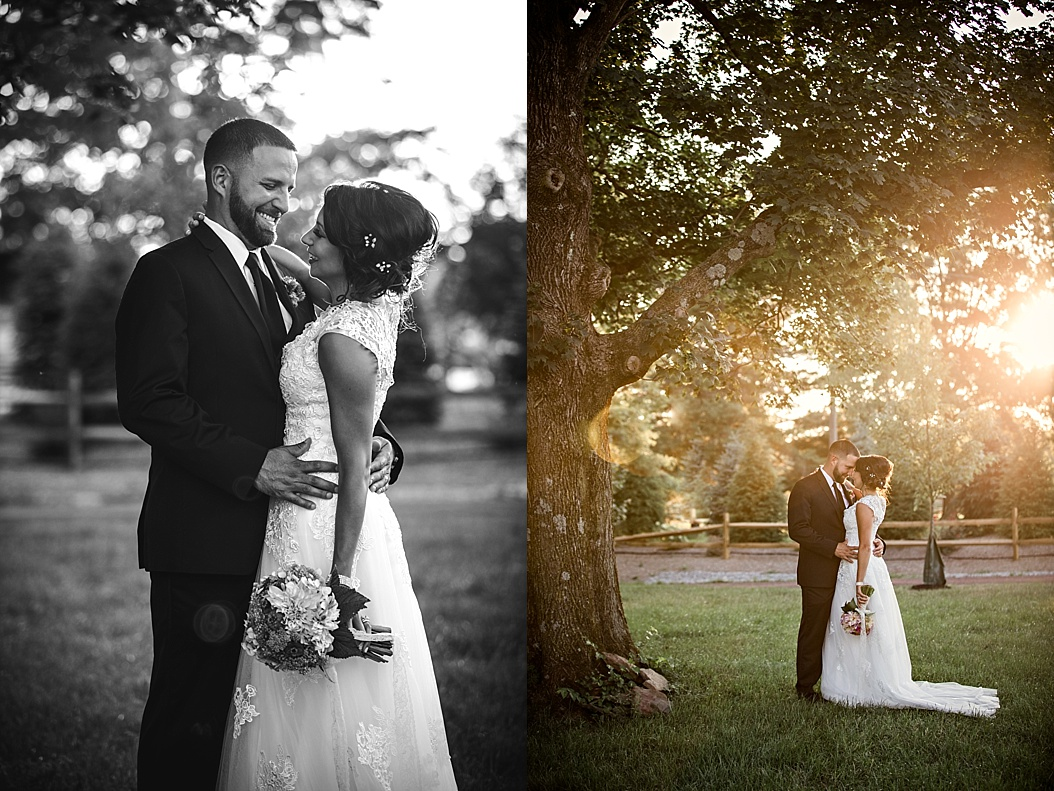 Golden Light Bridal Portraits