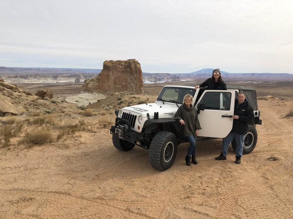Grand Staircase Escalante - PC: Mark - Jeep Lake Powell