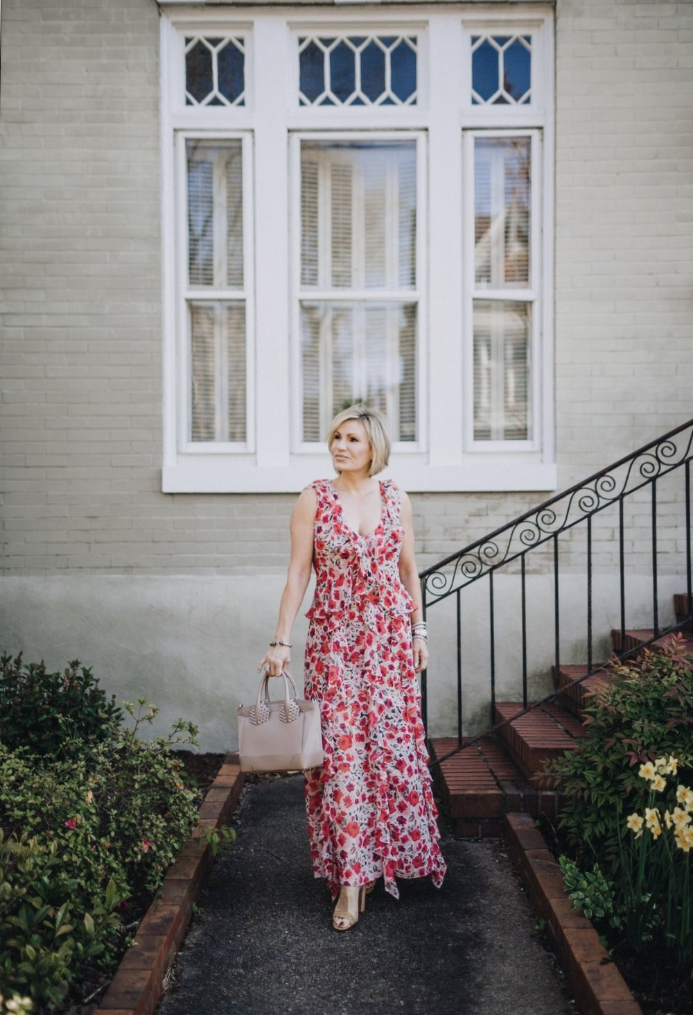"""I call this the """"elegant maxi"""" and can be worn confidently to anything from a pool party to wedding. This embodies comfort and style. Shop this look:  21buttons.com/p/18546848"""
