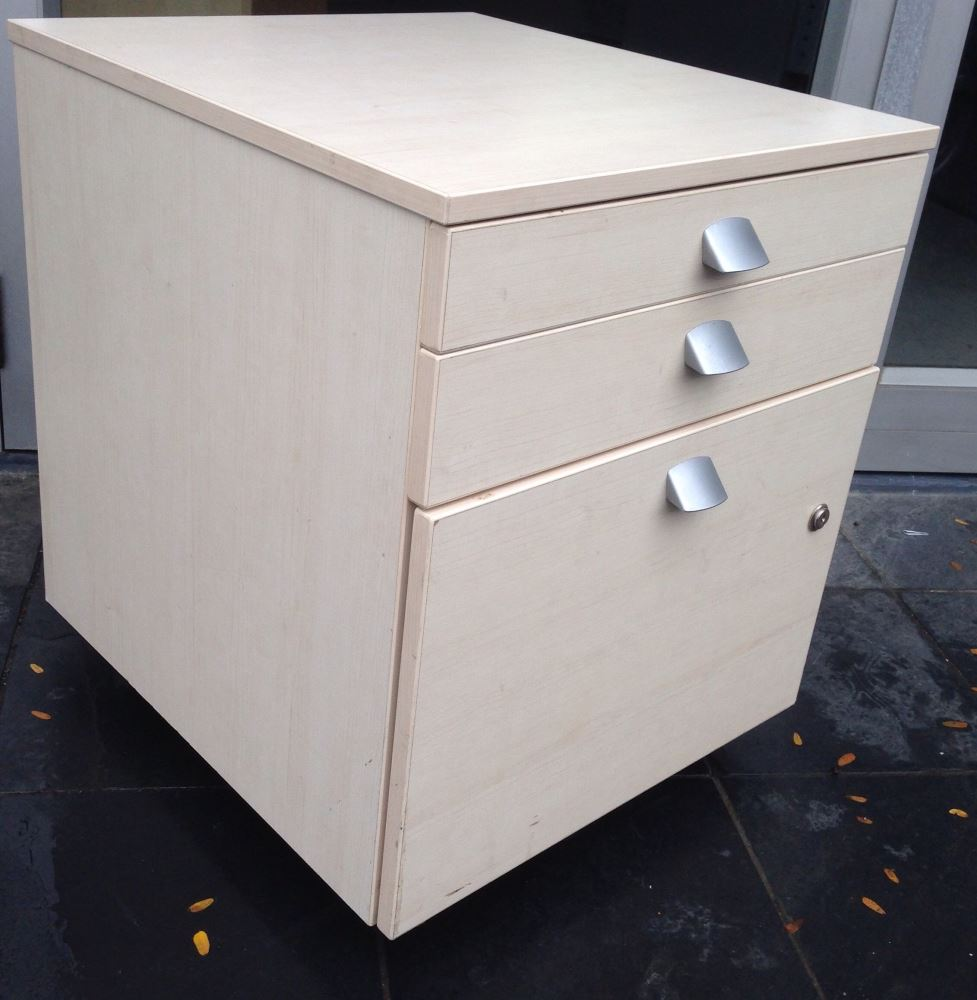 3 Drawer Filing Unit