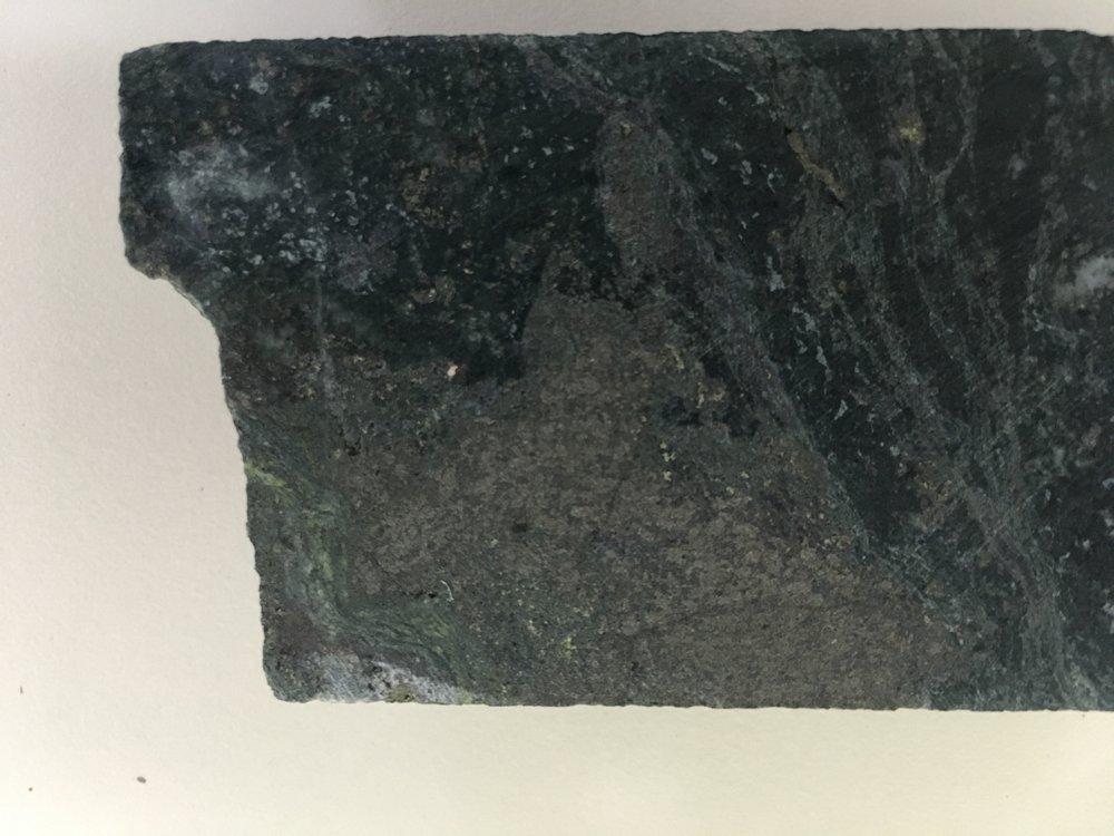 Remobilised sulphides within dolerite DD15 505.45m.JPG