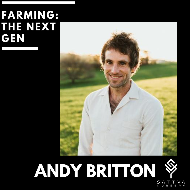 Andy is a regenerative powerhouse of plant know how. - Andy developed a passion for horticulture and farming at a young age while growing up on the land in West Gippsland. His skills and passion have seen him work both here and overseas as a skilled orchardist and grafter and now founder of a chemical free, regenerative nursery.Sattva nursery grows a diverse range of high quality dwarf fruit trees, fruiting shrubs and berries. Their aim is to grow a range of fruit trees that are easy to manage, precocious, heavy bearing and will grow in a limited amount of space for micro farming. Andy is passionate about fresh, chemical free food, food security and making it available to everyone.