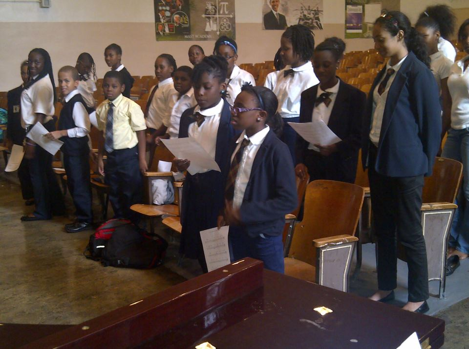 brooklyn students at first day of choral rehearsal.jpg