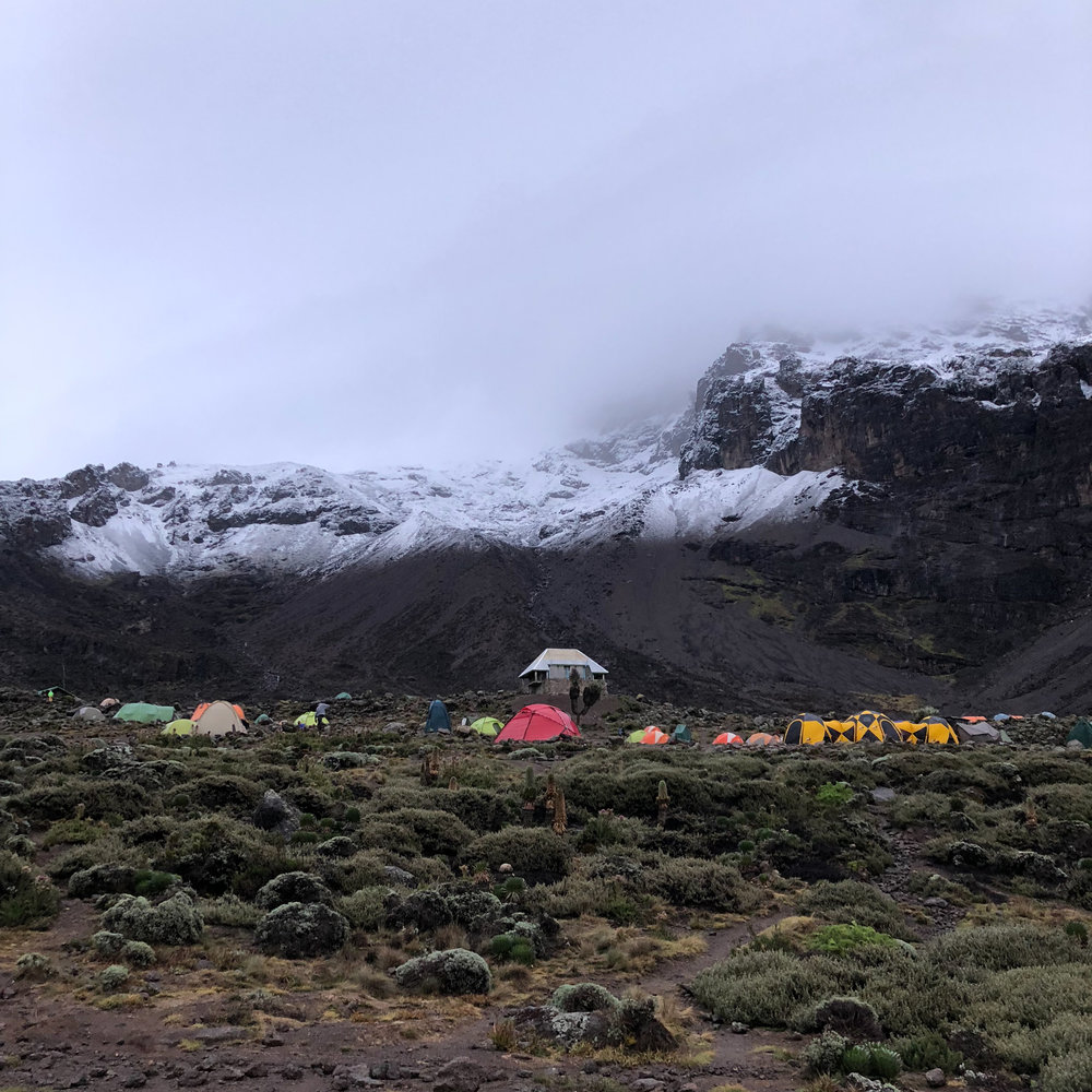 View from Barranco Camp