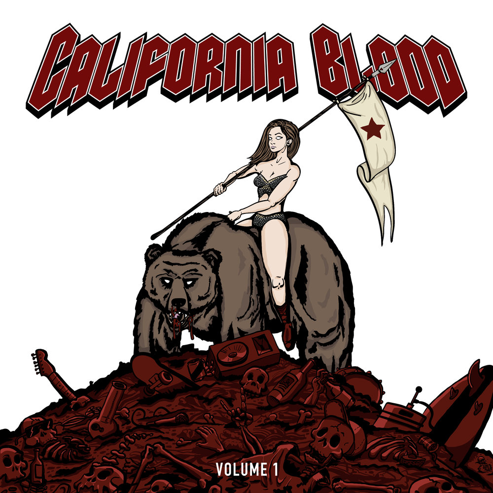 California Blood: Volume 1 - Various ArtistsRelease Date: 1/26/18Formats: Digital, CD, Limited-Edition Cassette