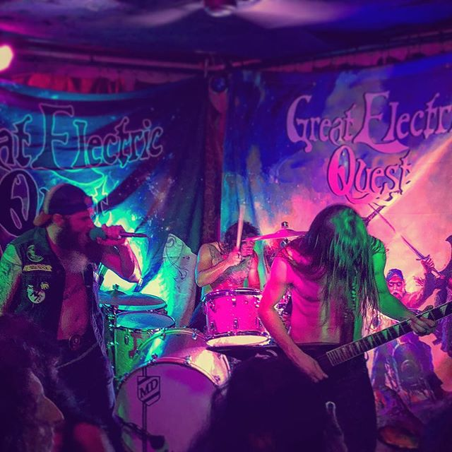 """@greatelectricquest """"Chapter II"""" record release show in O-side!"""