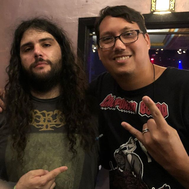 With Arthur Rizk from Eternal Champion and Sumerlands. Metal producer and musician.