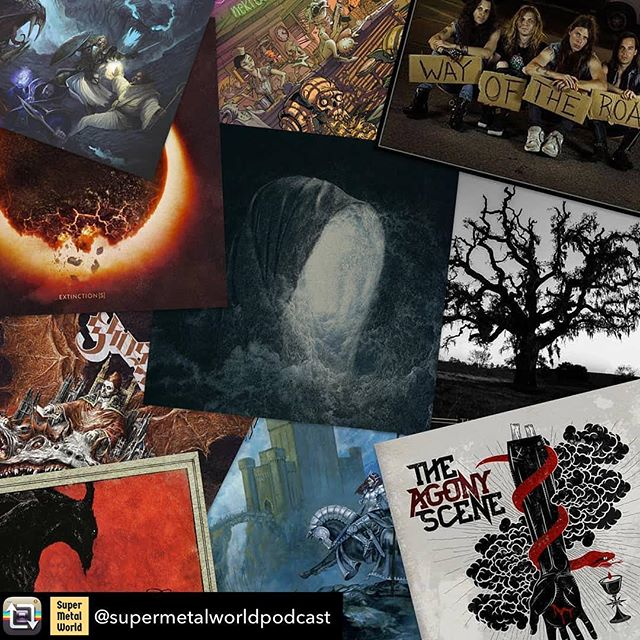 Jon shared his year-end list of top 2018 metal albums! Check it out at SuperMetalWorld.com ... Repost from @supermetalworldpodcast - Head to www.supermetalworld.com to discover 10 metal albums that'll make your head bang off your spinal cord 🤘🏻 ----------------------------------------------------------------------------------- #thebandghost #skeletonwitch #unearth #heavymetal #deathmetal #blackmetal #metalcore #deathcore #powermetal #melodicdeathmetal #hardrock #blackmetal