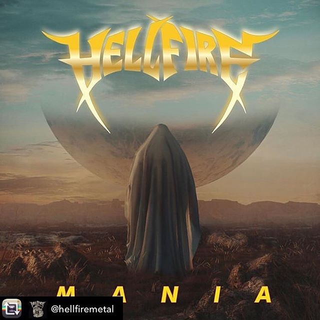 This is gonna rip. ... Repost from @hellfiremetal - Our new album MANIA comes out on March 29 2019! Pre Sale kicks off on Friday and you'll be able to hear the title track MANIA as well.  Artwork by Phillipp Lykostratis www.ridingeasyrecs.com • • • • #hellfire #hellfiremetal #ridingeasyrecords #nwothm #nwobhm #thrashmetal #heavymetal #rocknroll #headbangers #truemetal #traditionalmetal