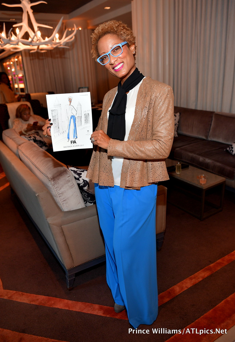 Event Inspiration : This is a great idea for a gift for your guests! These are quick 5 to 10 min Gesture Drawings. Event photo from Fashion in Atlanta and Ragtrade Atlanta