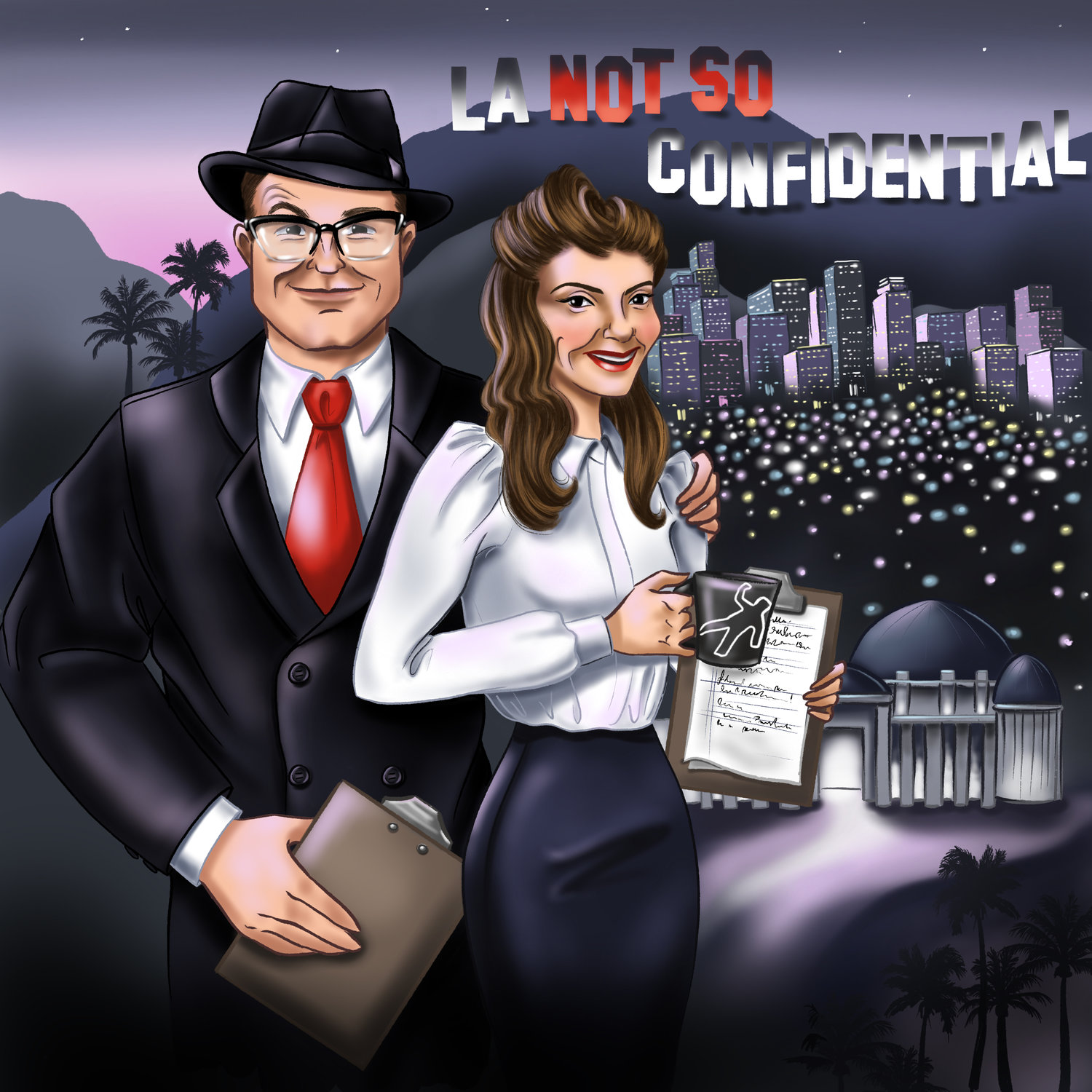LA NOT SO CONFIDENTIAL