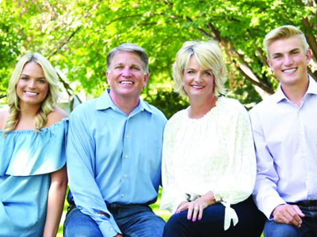 Kari's Family -  ( Left to right)  Somer—Kevin—Kari—Haley