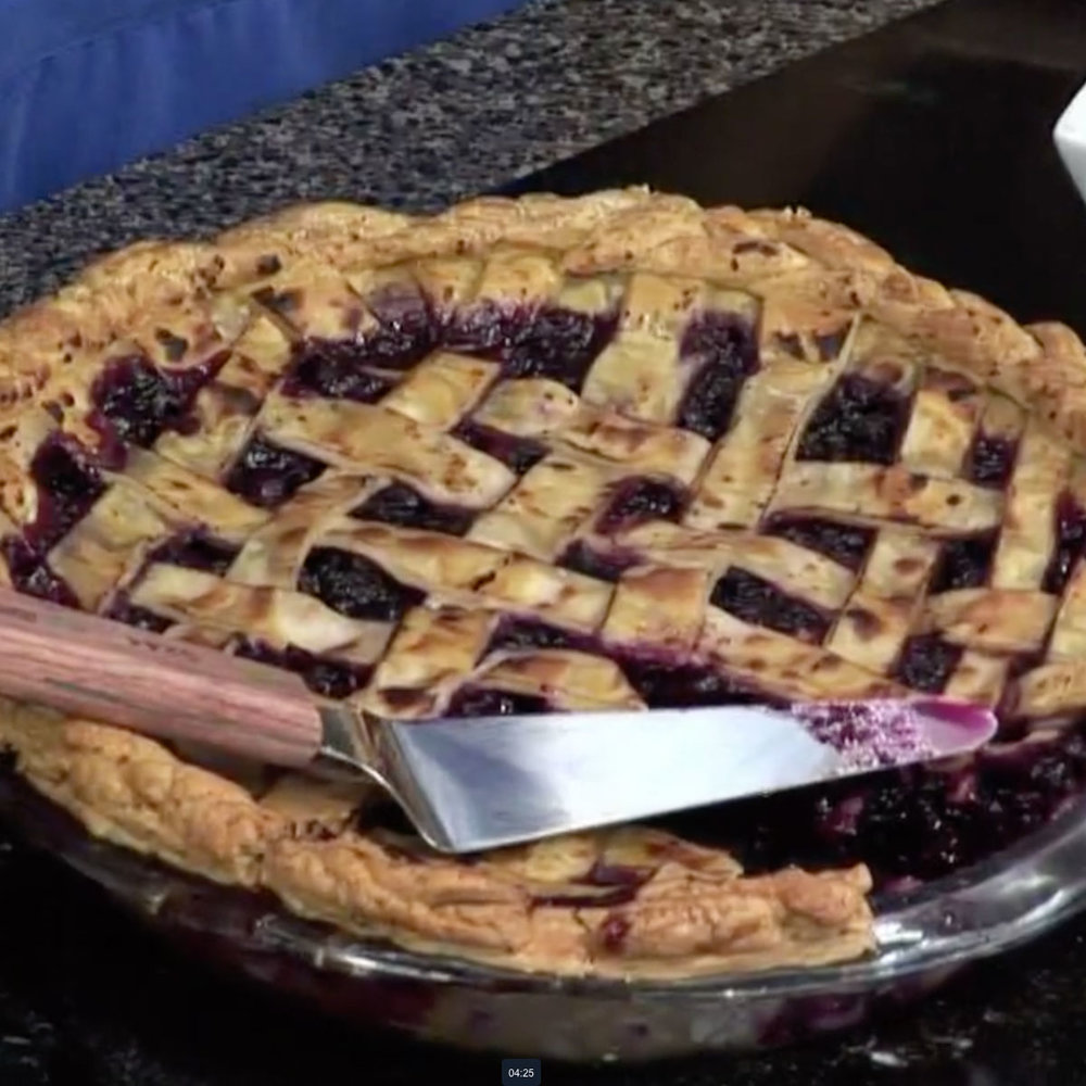 Blueberry + Apple Pie - Watch David cook it and get the recipe.WCSH's 207, August 21, 2017