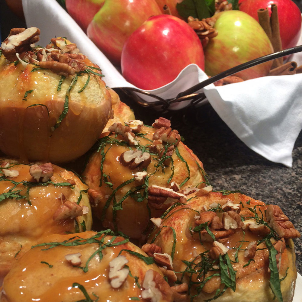 Pumpkin Cheesecake Stuffed Apples - Watch David cook it and get the recipe.WCSH's 207, November 22, 2016