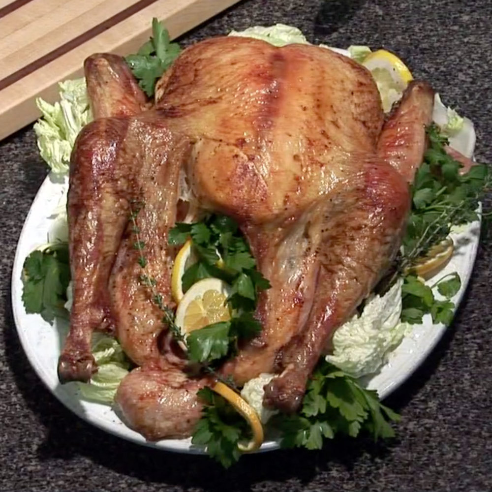 Turkey 101 - Watch David cook it and get the recipe.WCSH's 207, November 24, 2015
