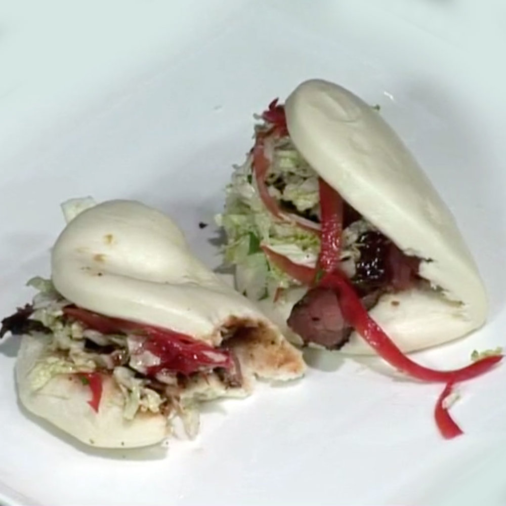 Asian Lamb Steam Buns - Watch David cook it and get the recipe.WCSH's 207,October 16, 2015