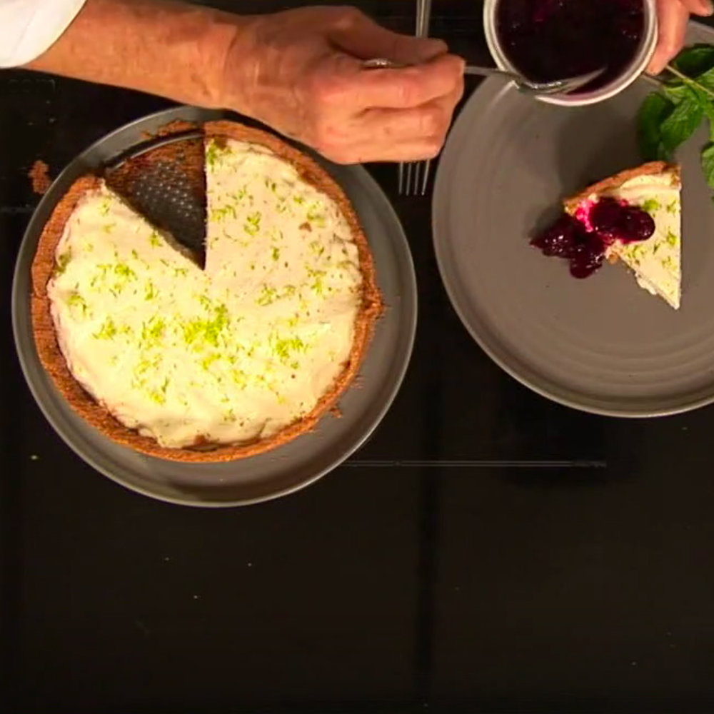 No Bake Key Lime Pie - Watch David cook it and get the recipe.WCSH's 207, July 16, 2018