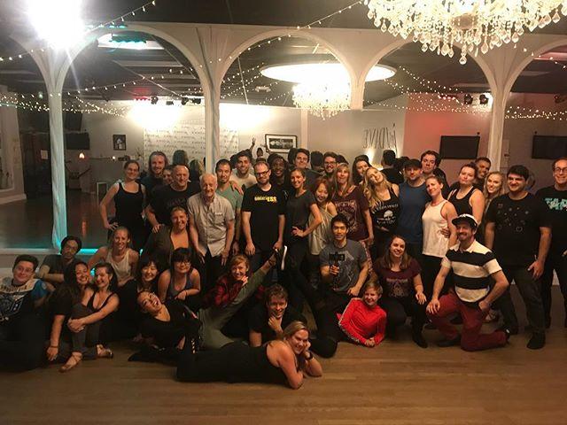 Awesome night of dancing with the @swungovermondays crew! 💃 💃 💃 #westcoastswing #swungovermondays  #justdancela #dancing #la #jackandjill