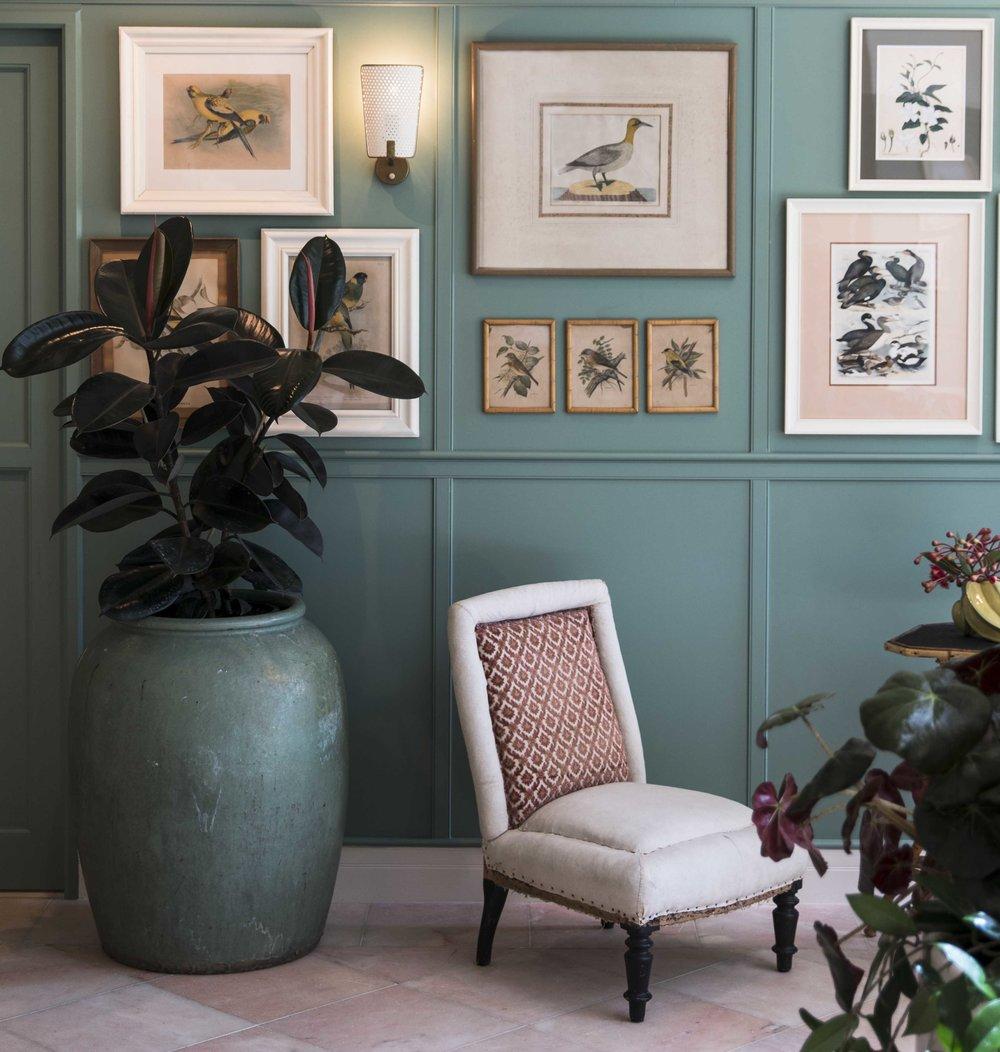 Take a break in the beautiful interiors of  Bert's Newport