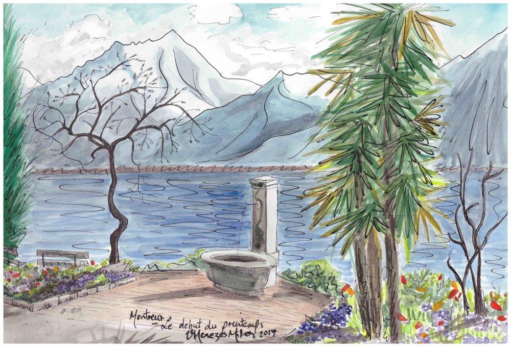 Montreux - Début de printemps