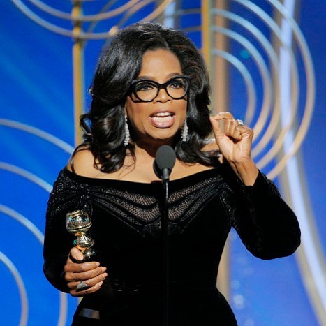 "🎤 ""I want all of the girls watching here now to know, that a new day is on the horizon."" 🎤 ⠀⠀⠀⠀⠀⠀⠀⠀⠀ ⠀⠀⠀⠀⠀⠀⠀⠀⠀ ⠀ @oprah kicks off 2018 with an inspiring speech at the #goldenglobes and powerful message to the terrible men, that your #timesup. The funeral procession of female stars in black represented the death of casting couch Hollywood. And the rise of a new female forward film industry. Woman of 2018 already? ⠀⠀⠀⠀⠀⠀⠀⠀⠀ ⠀⠀⠀⠀⠀⠀⠀⠀⠀ ⠀⠀⠀⠀⠀⠀⠀⠀⠀ ⠀⠀⠀⠀⠀⠀⠀⠀⠀ #oprahwinfrey #metoo #oprahgoldenglobespeech #womensequality #womentolookupto #feminism ⠀⠀⠀⠀⠀⠀⠀⠀⠀ ⠀⠀⠀⠀⠀⠀⠀⠀⠀ ⠀"