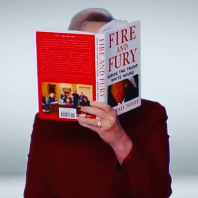 🎙 FIRE & FURY 🎙 ⠀⠀⠀⠀⠀⠀⠀ ⠀⠀⠀⠀⠀⠀⠀ ⠀⠀⠀⠀⠀⠀⠀ ⠀⠀⠀⠀⠀⠀ ⠀  Grammy winner @hillaryclinton put in her bid for a second, but  it could never be as significant as her winning work 'It Takes a Village', which makes it all of our responsibility that girls grow up knowing they can be President, and more. ⠀⠀⠀⠀⠀⠀⠀ ⠀⠀⠀⠀⠀⠀⠀ ⠀⠀⠀⠀⠀⠀⠀ ⠀⠀⠀⠀⠀⠀⠀ ⠀⠀⠀⠀⠀⠀⠀ ⠀⠀⠀⠀⠀⠀⠀ #womentolookupto #grammys #grammys2018 #grammysgirl #ittakesavillage #hillaryclinton #fireandfury #trump