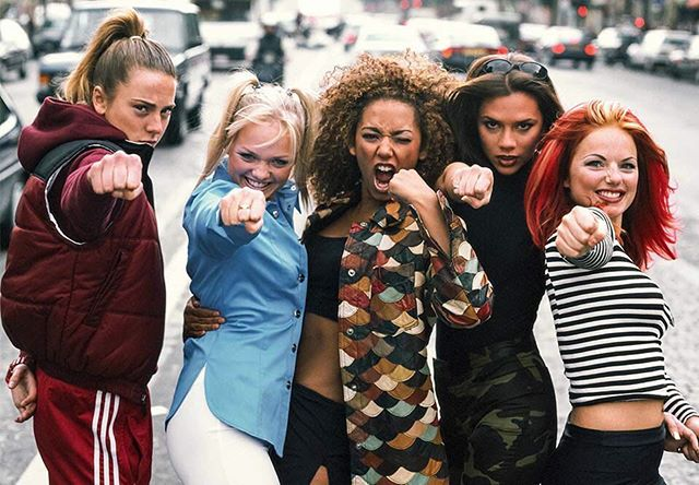 It's official. GIRL POWER IS BACK. 👊⠀⠀⠀⠀⠀⠀⠀⠀⠀ ⠀⠀⠀⠀⠀⠀⠀⠀⠀ ⠀⠀⠀⠀⠀⠀⠀⠀⠀ ⠀⠀⠀⠀⠀⠀⠀⠀⠀ The Brit Pop five have reunited, although Mel C remarks that they never really broke up. Watch this space. ⠀⠀⠀⠀⠀⠀⠀⠀⠀⠀⠀⠀⠀⠀⠀⠀⠀⠀ ⠀⠀⠀⠀⠀⠀⠀⠀⠀ ⠀⠀⠀⠀⠀⠀⠀⠀⠀ #spicegirls #girlpower #gottagetwithmyfriends #britpop #90s #fiercefemale #women #girlgroup #spicegirlsforever