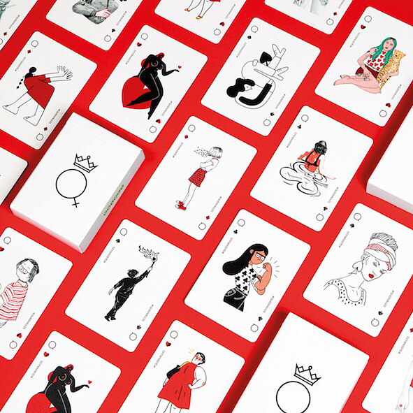 ♥️ Turning The Tables♦️ ⠀⠀⠀⠀⠀⠀⠀⠀⠀ ⠀⠀⠀⠀⠀⠀⠀⠀⠀ ⠀⠀⠀⠀⠀⠀⠀⠀⠀ ⠀⠀⠀⠀⠀⠀⠀⠀ #queenrules card packs put the Queen higher in the deck than the King. In support of #heforshe this #IWD, a wonderful fellow female empowerment campaign. ⠀⠀⠀⠀⠀⠀⠀⠀⠀ ⠀⠀⠀⠀⠀⠀⠀⠀⠀ ⠀⠀⠀⠀⠀⠀⠀⠀⠀ ⠀⠀⠀⠀⠀⠀⠀⠀⠀ #women #internationalwomensday #femaleempowerment #womenontop #wtlut #womentolookupto #poker