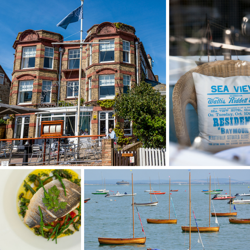 The Seaview Hotel Restaurant and Bar, located on the north-east Isle of Wight