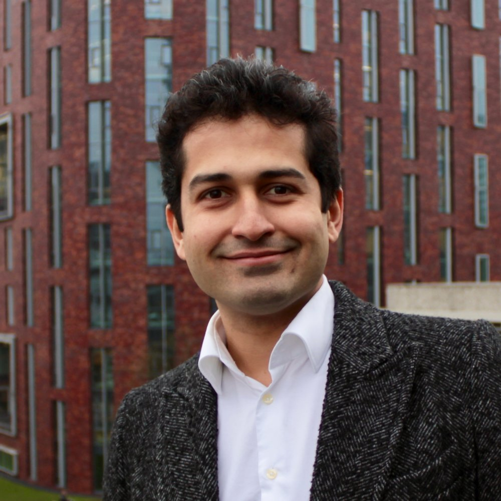 Mehdi Farza, PhD   Co-founder and CEO