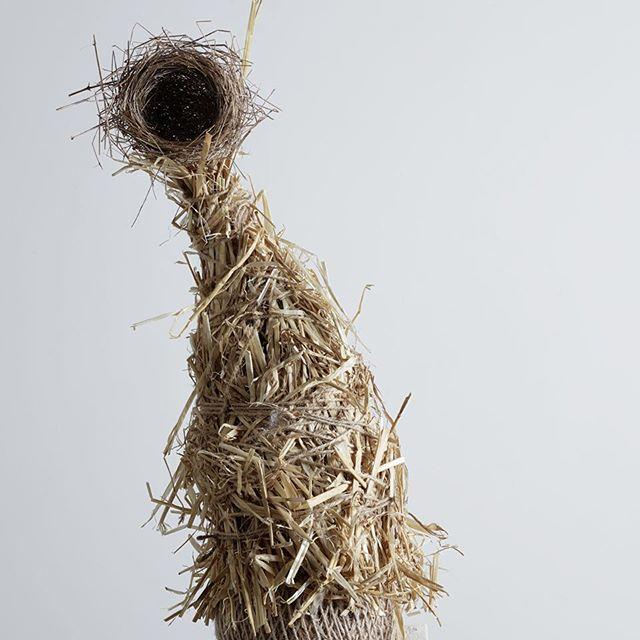 Totem detail....photography @henrybourne for @thenewcraftsmen and  #selfridges #birdsnest @theofficialselfridges