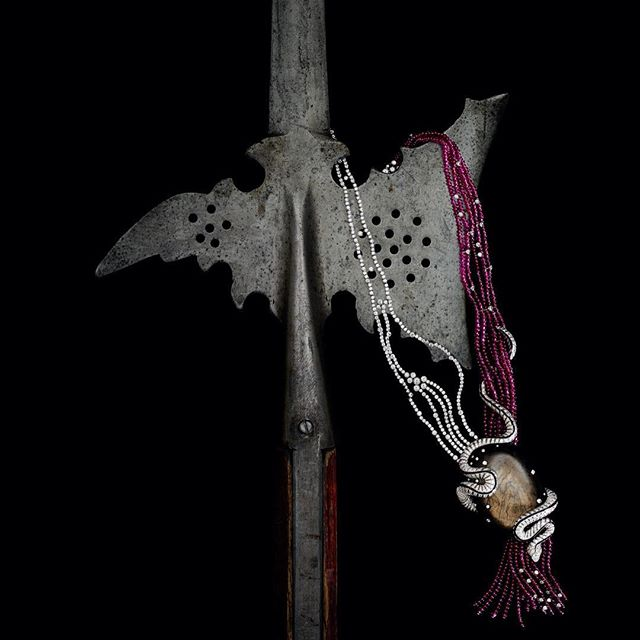 A deadly, old spear I had knocking about......