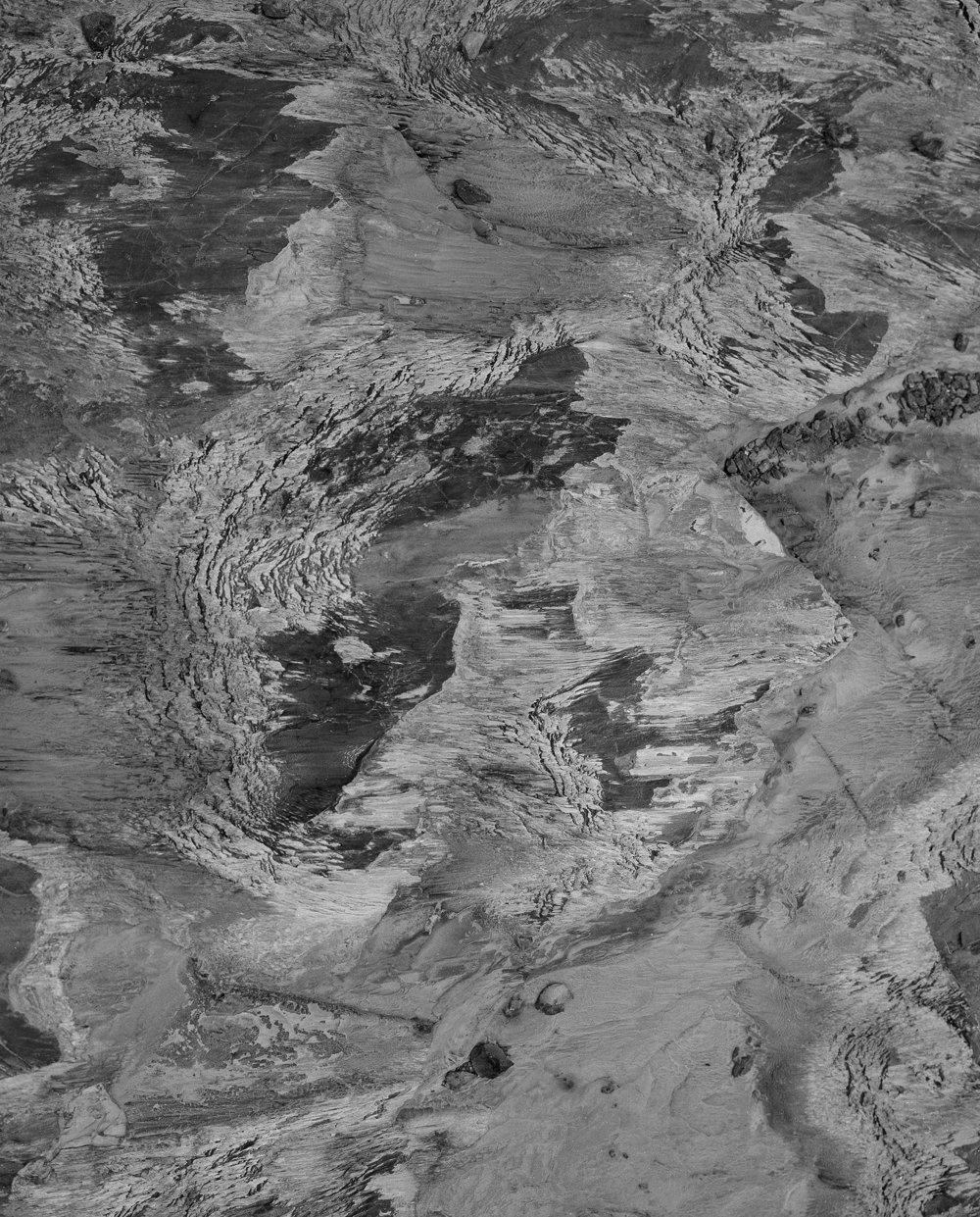 Gletscherschliff am Fründengletscher