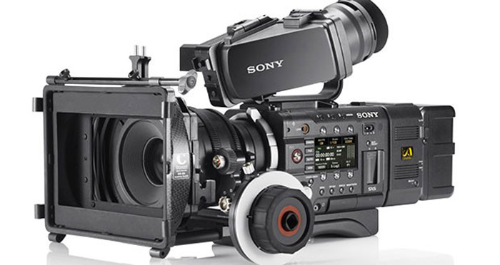 Sony F55 Camera - Available for hire from Bluefin Television, along with a huge range of other gear.