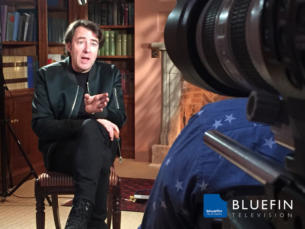 Bluefin TV filming with Jonathan Ross for CH4