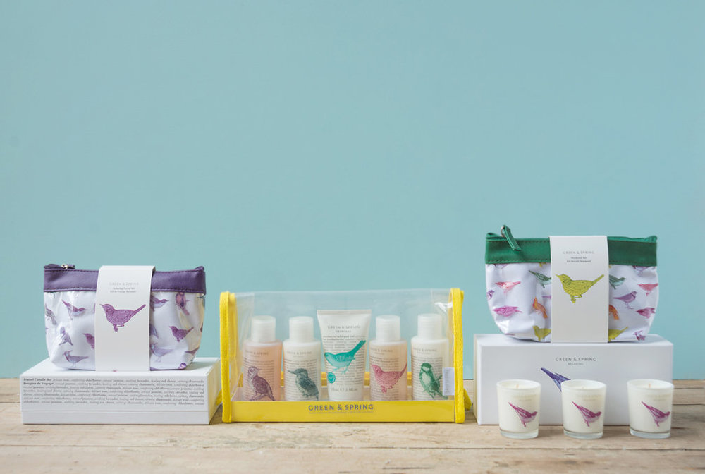 Gift Sets - Give the gift of Green & Spring, with one of our beautifully packaged gift sets.  Shop Gift Sets