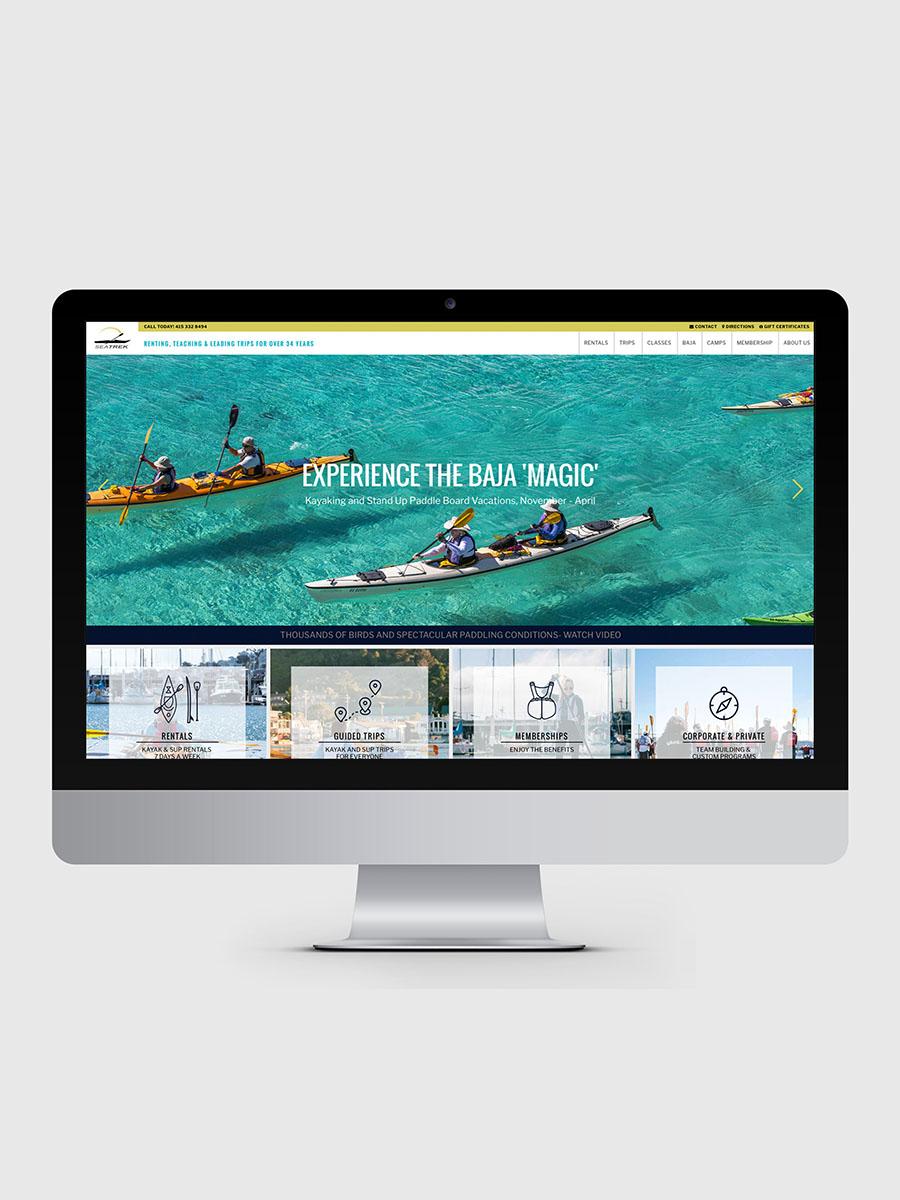 SEA TREK   San Fransisco kayak & paddling tour outfit   + View Project