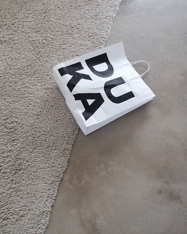 Sunday is for the essentials.  #duka #sundayvibes #concretefloors #productstyling 🤣 #minimal #scandi