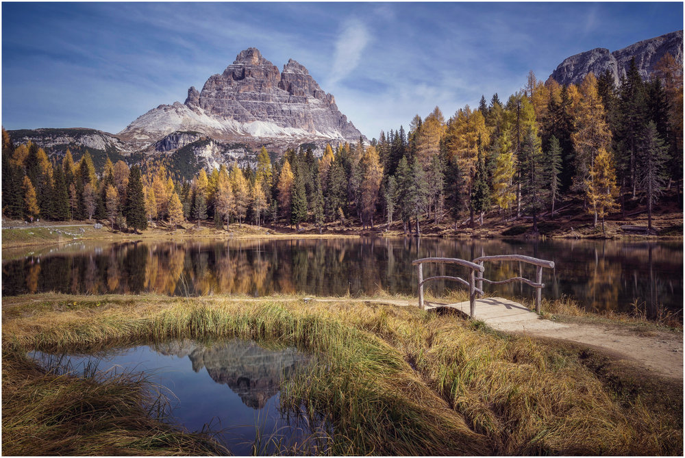 Lago di Antorno at the foot of the Tre Cime National Park is absolutely worth a visit before heading up the toll road.