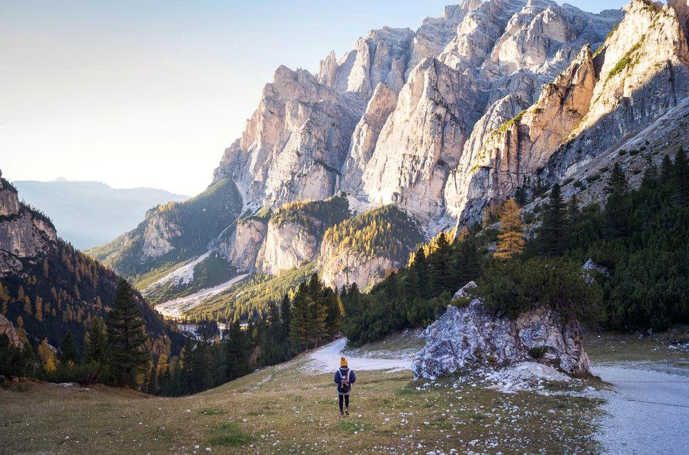 Wanderer - Lago Lagazuoi - Italy 2017