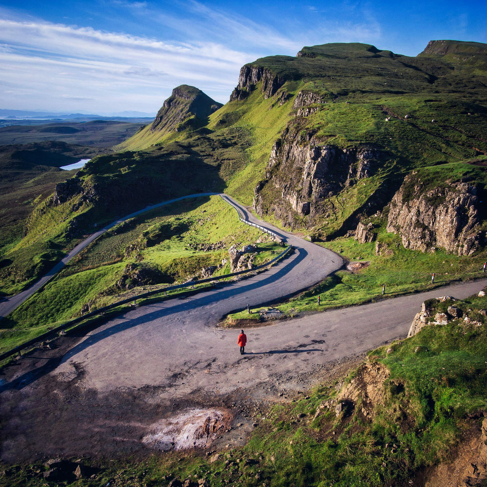 Windy Roads - Quiraing - Scotland 2017