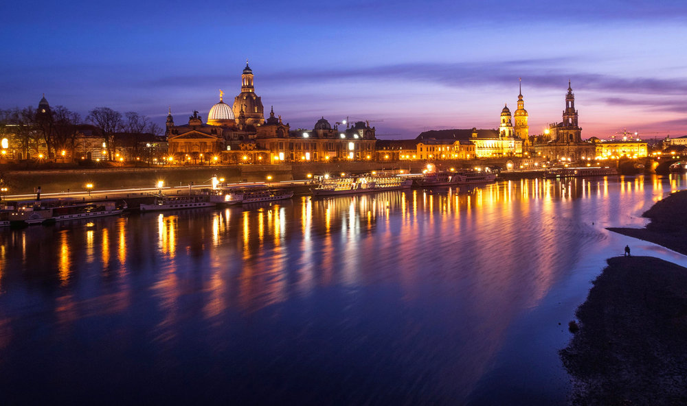 Blue Hour - Dresden - Germany 2014