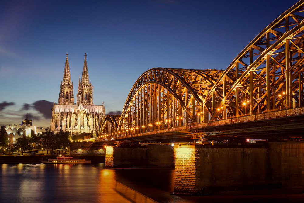 Hohenzollernbridge - Cologne - Germany 2017