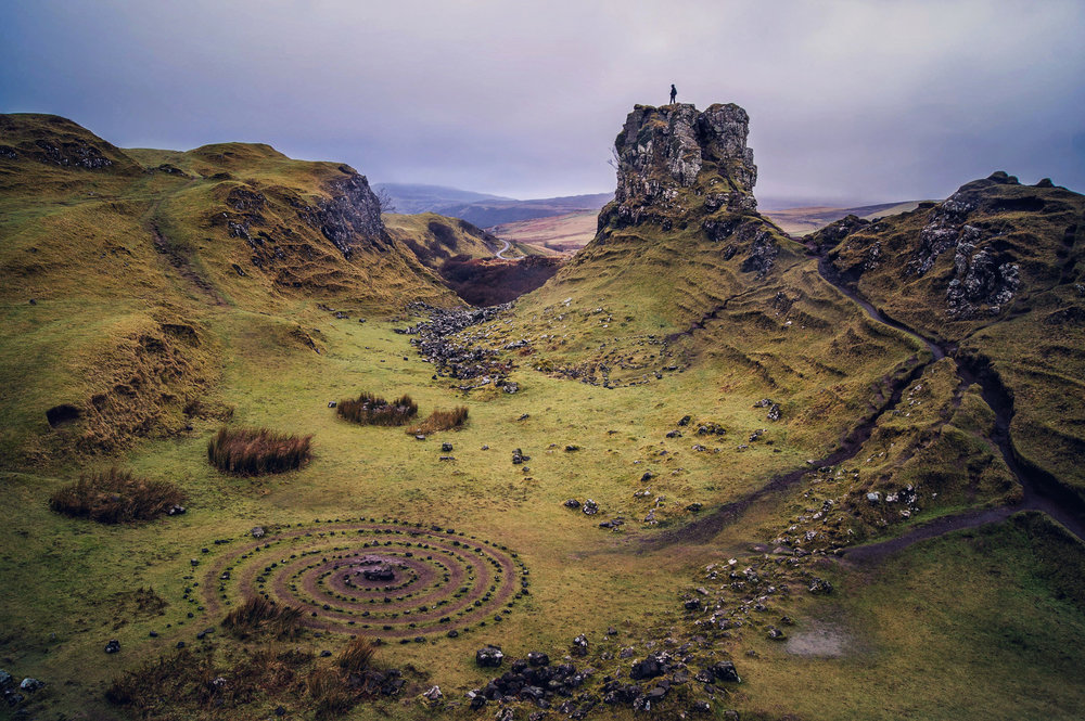 Fairy Glen - Isle of Skye - Scotland 2017