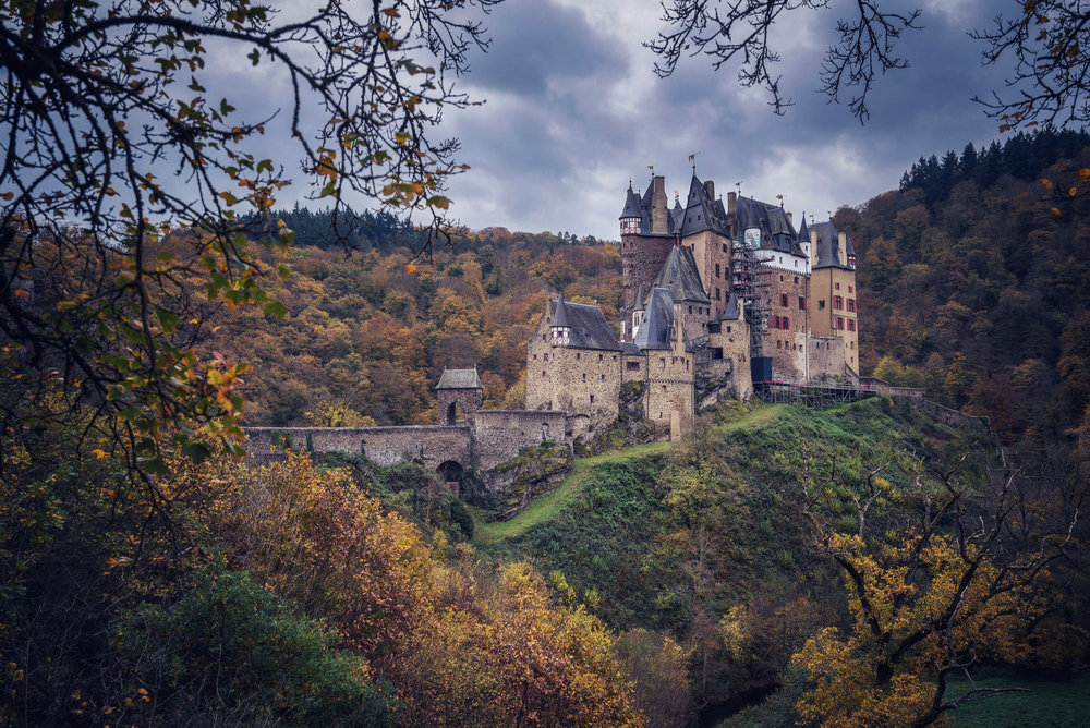 Burg Eltz is beautiful - especially in the autumn.