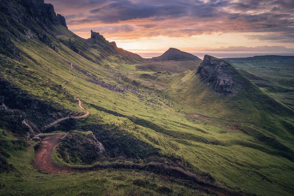 The mighty Quiraing during sunrise