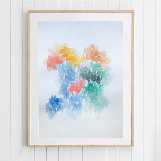 Spring VII · 160€ · 50x70cm