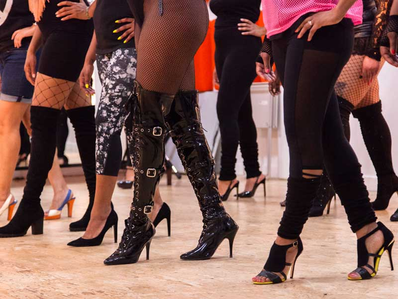 23ec8528197de Learn how to walk confidently your heels with this masterclass workshop