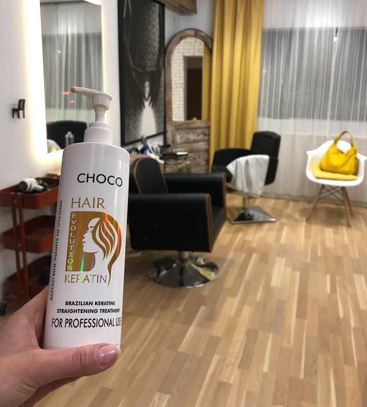 Tratamentul de indreptare cu keratina braziliana HairEvolution