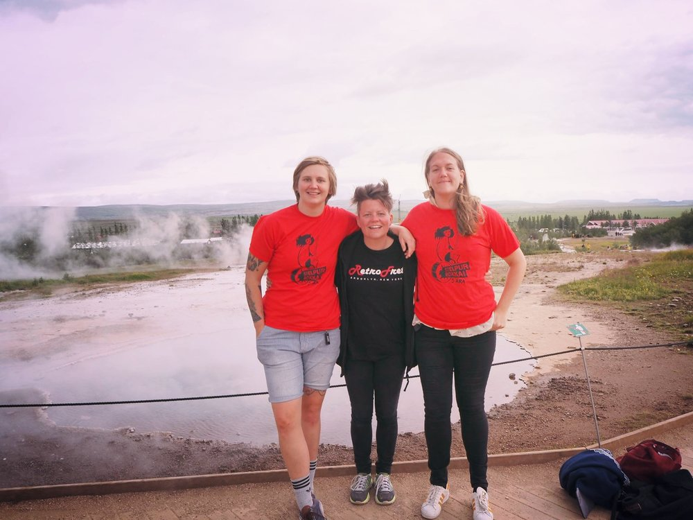 Vilde Nupen reiste blant annet på utveksling til Island som en del av sin praksisperiode. Les mer om hennes erfaringer  her .